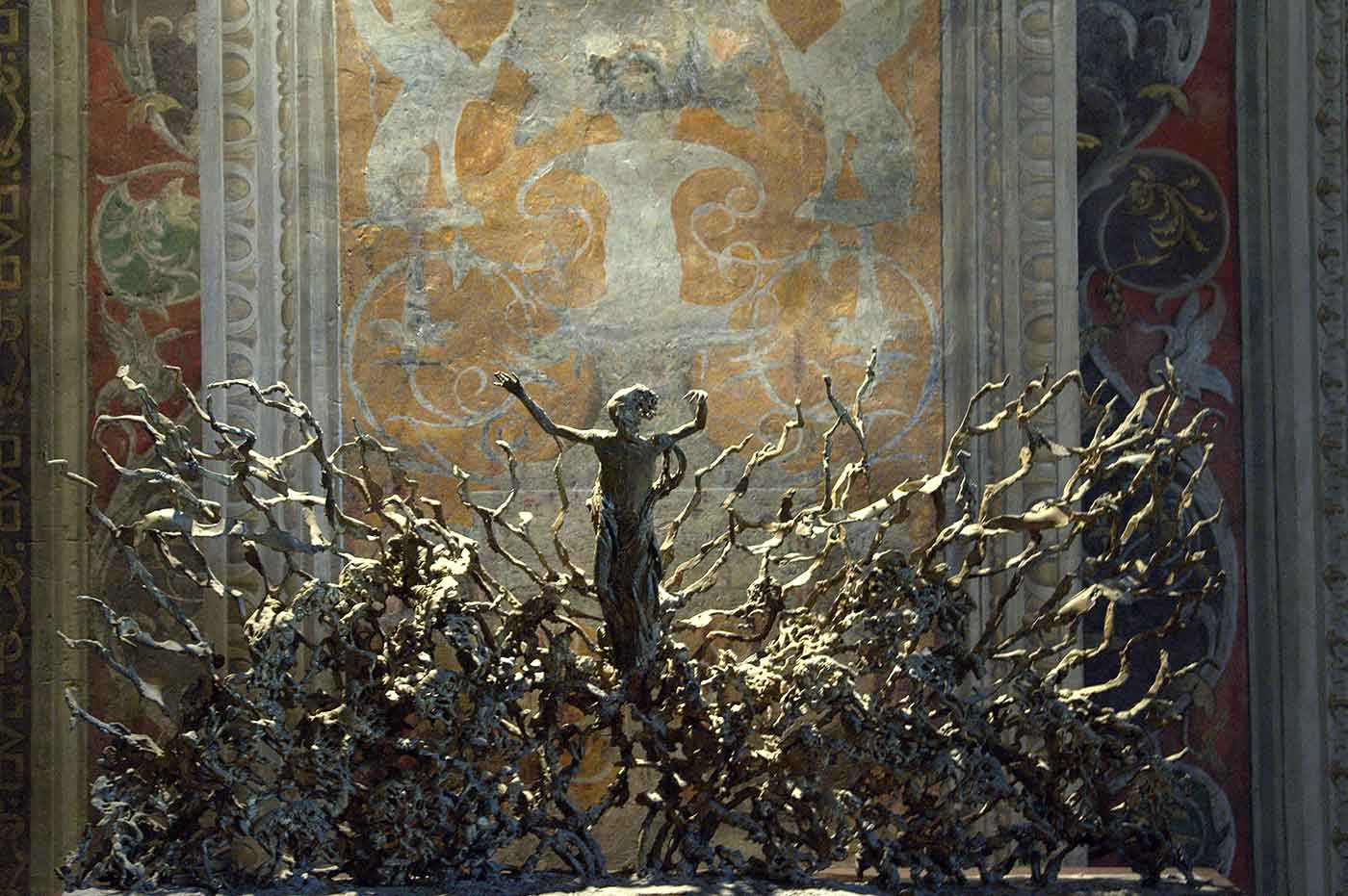 "La Resurrezione (""The Resurrection"") by Pericle Fazzini in Vatican Museum. Photo by Michal Osmenda."