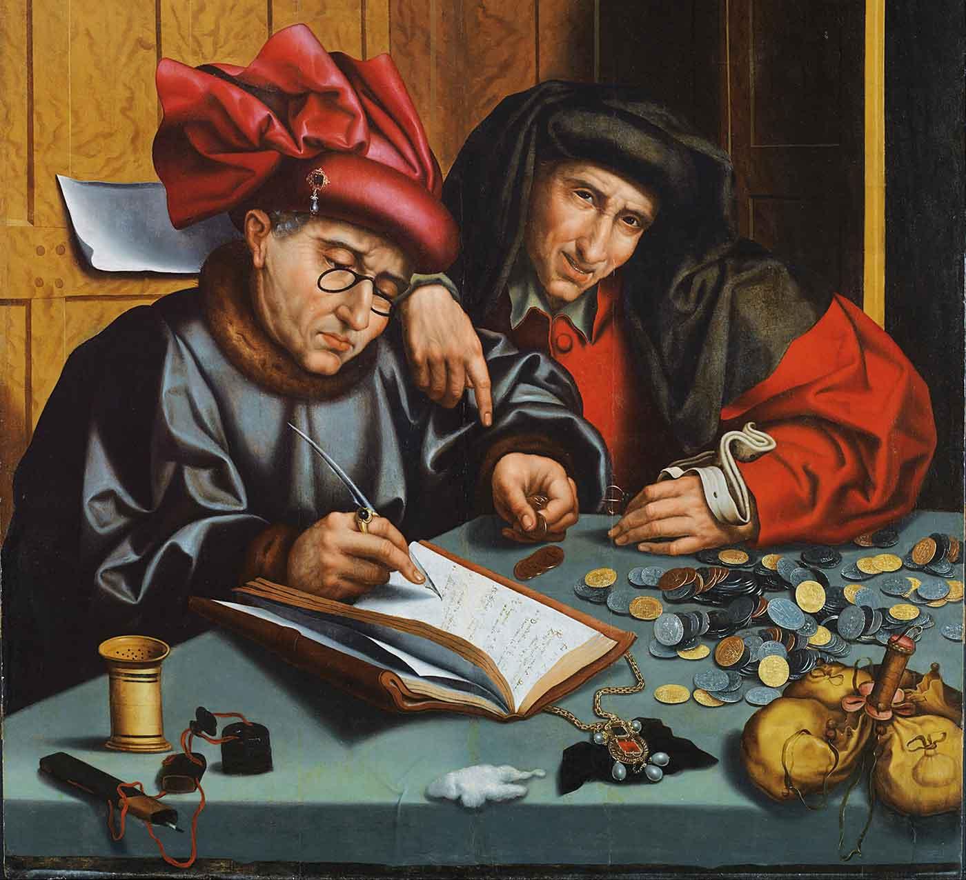 The Money Changers, by Marinus van Reymerswaele