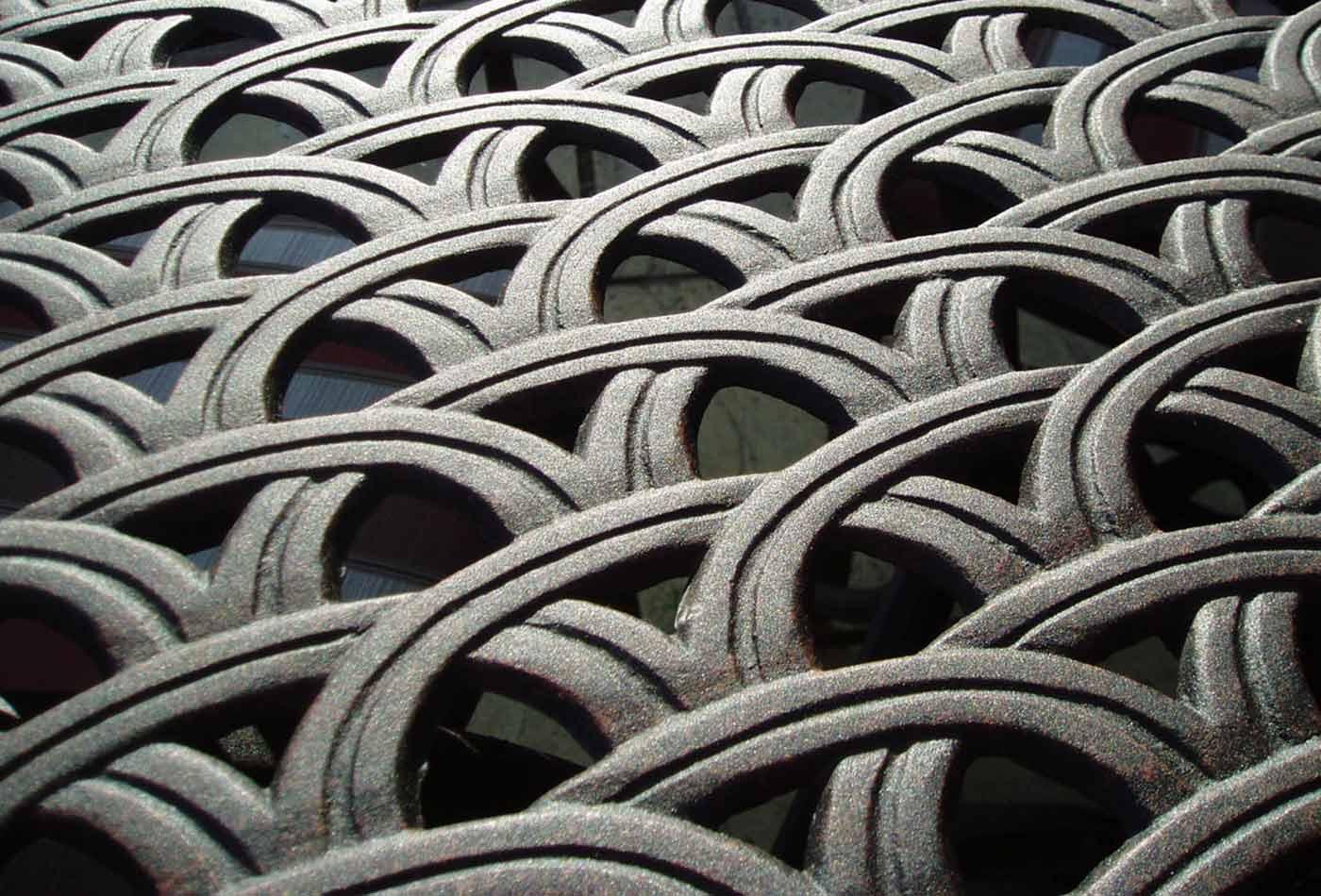 Metal pattern.