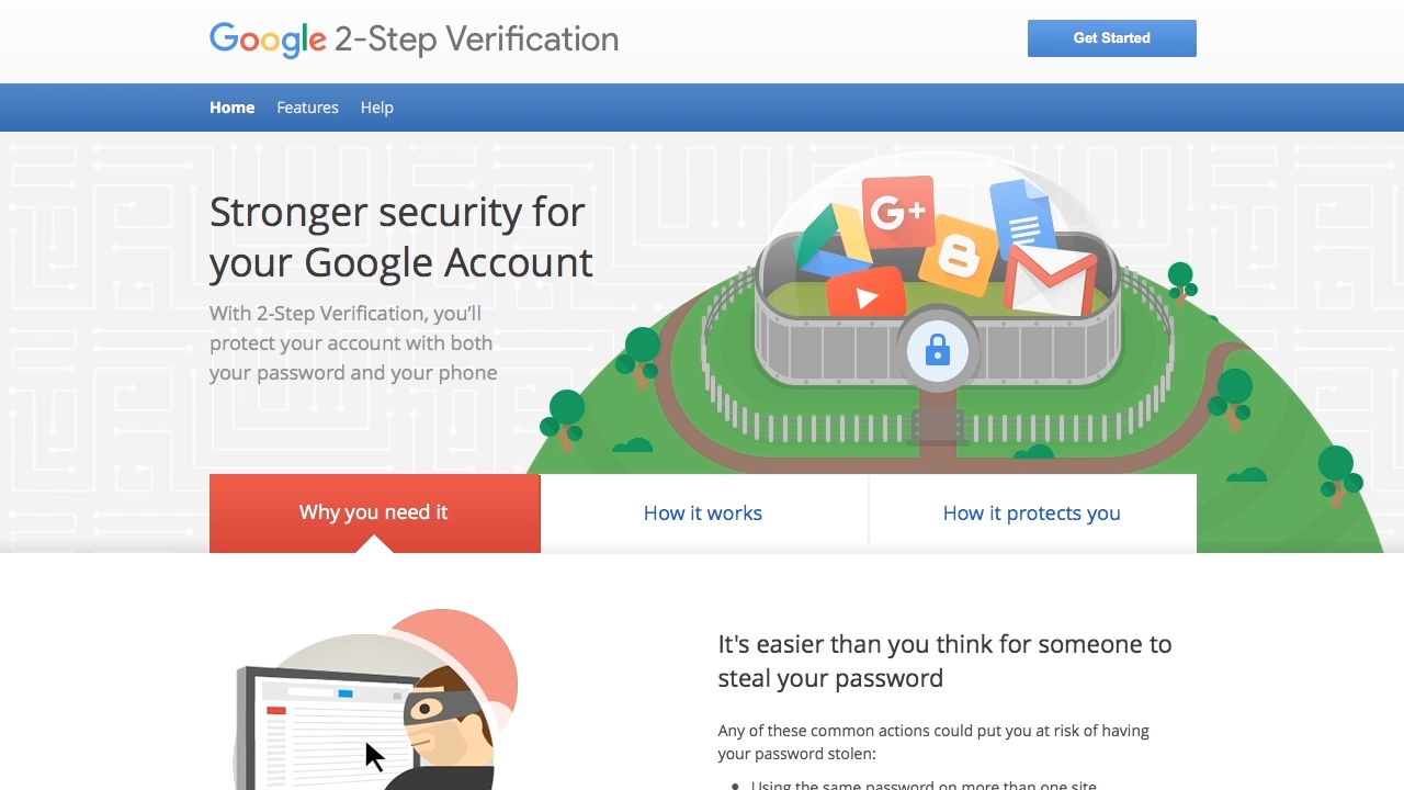 """Screen from """" How can multi-factor authentication protect your cloud computing accounts?"""""""