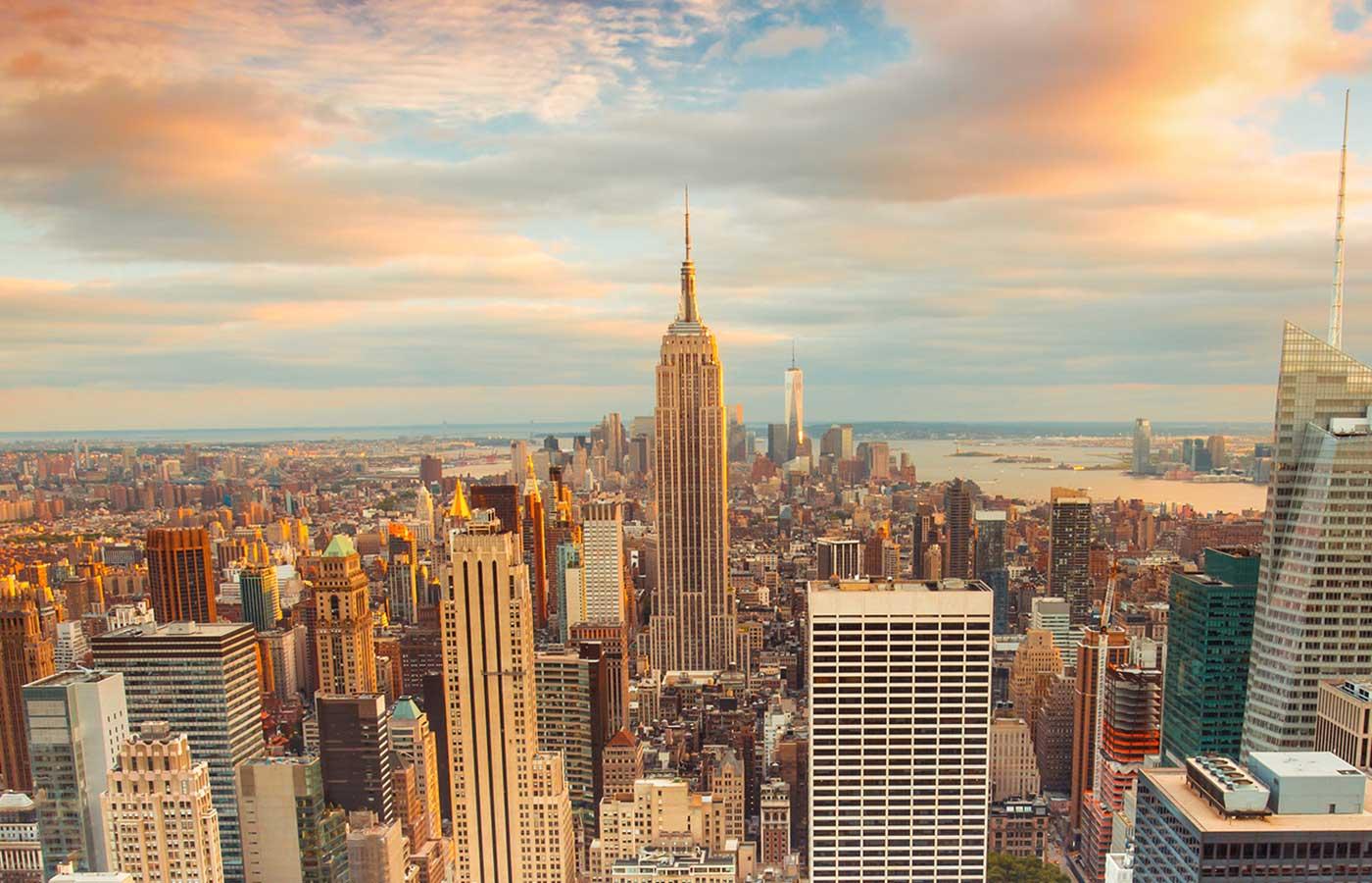 New York Skyline - O'Reilly Velocity Conference in New York 2018