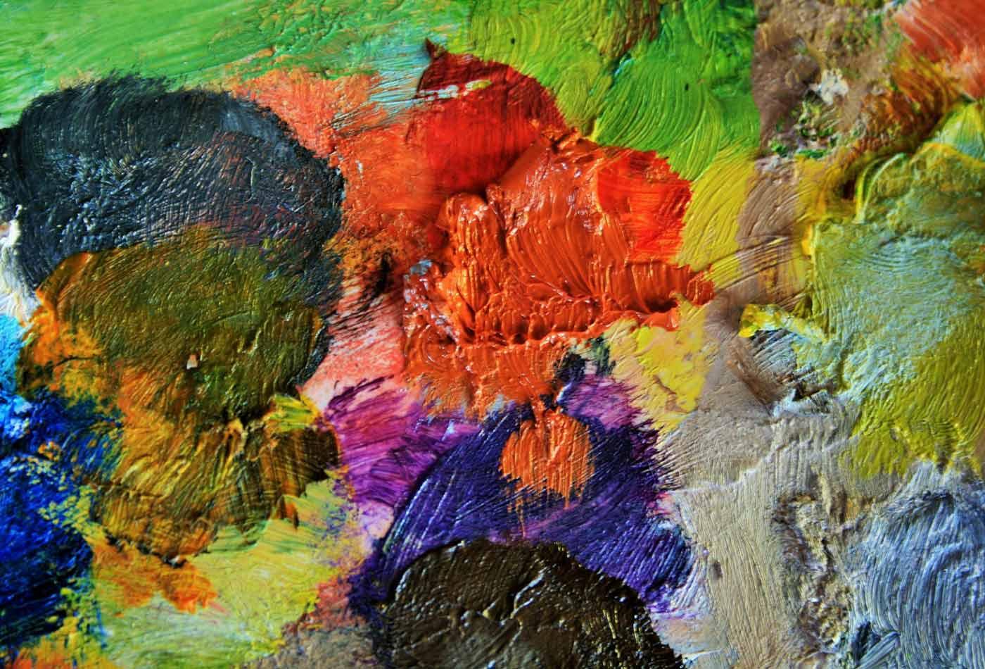 Paint palette.
