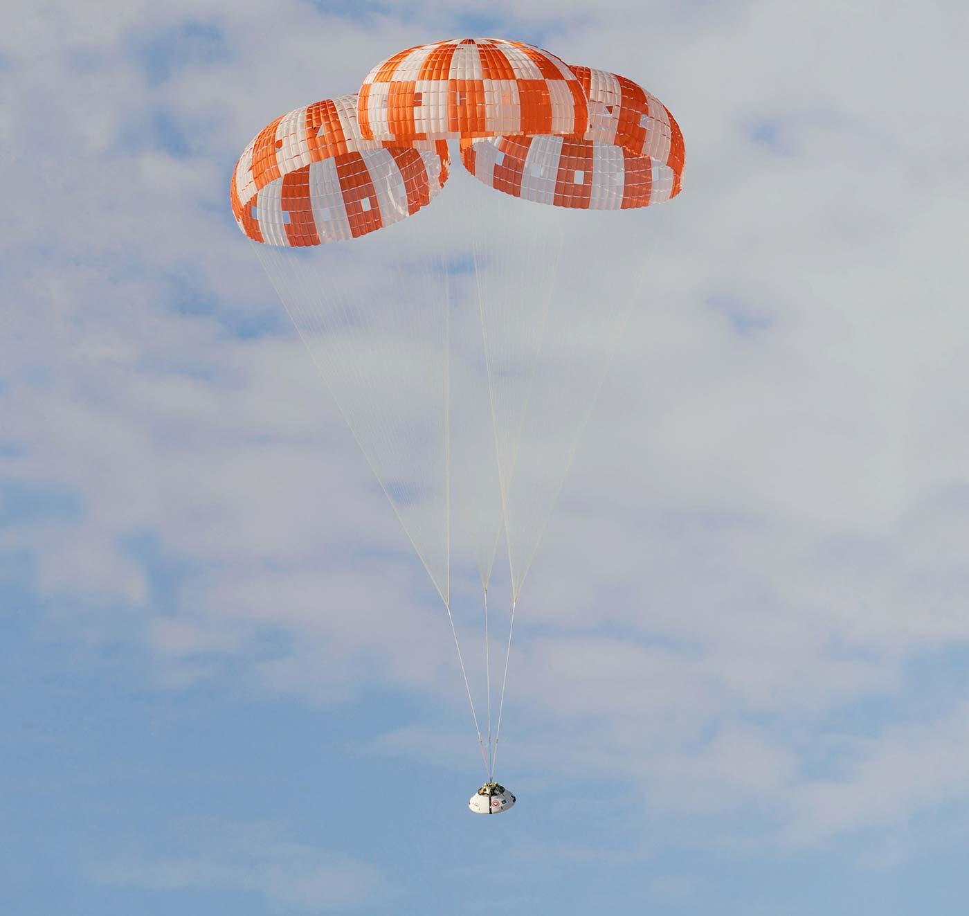 Orion parachute test
