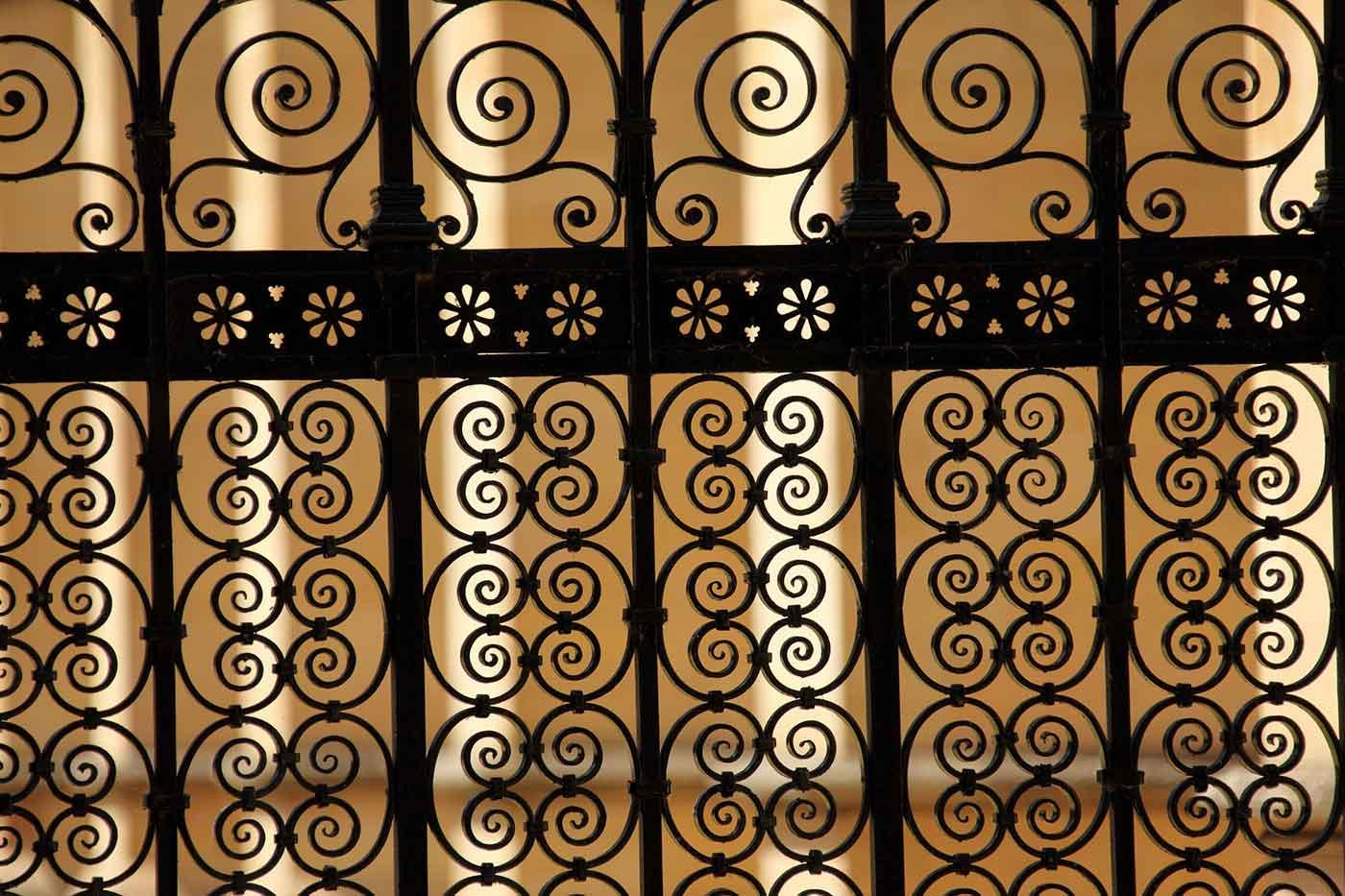 Ornamental bars