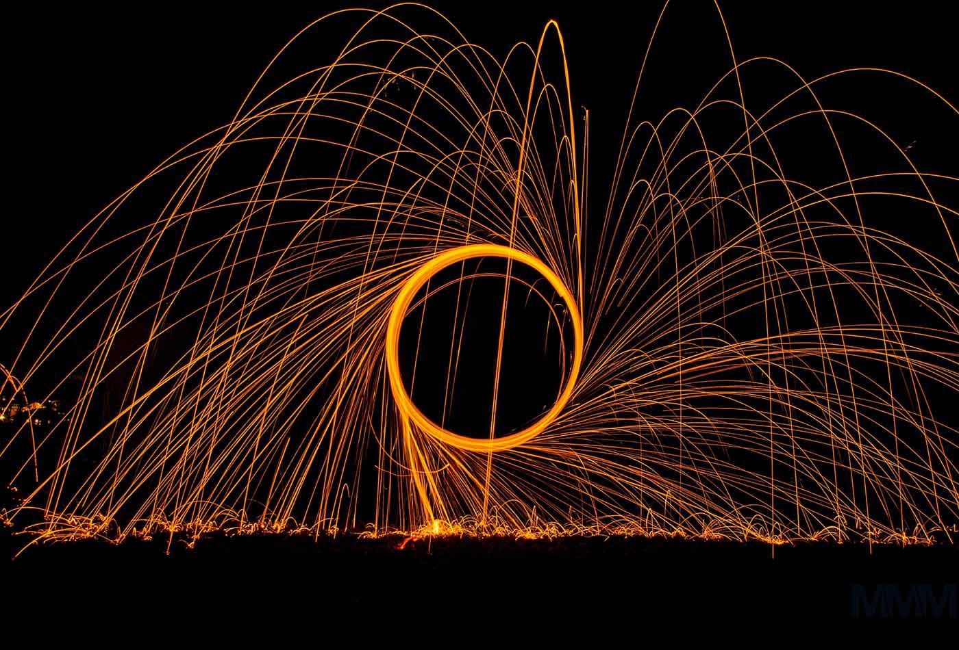 Circle of light.