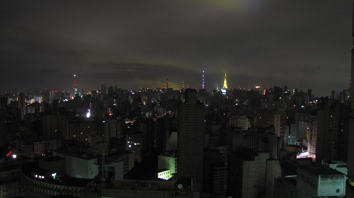 Power outage in São Paulo, Brazil