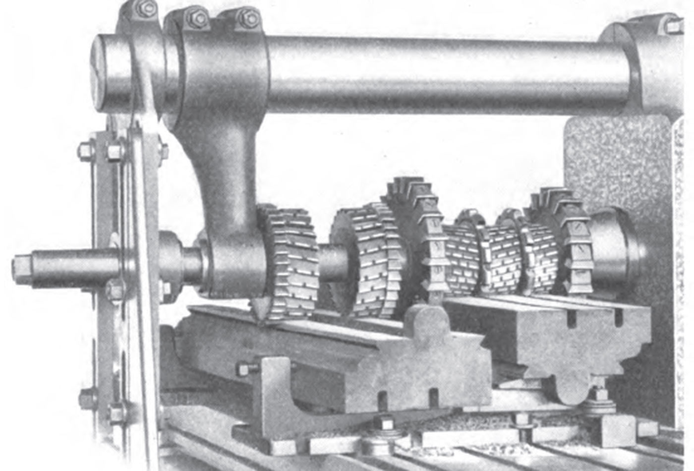 Practical Treatise on Milling and Milling Machines, page 138. 1919.