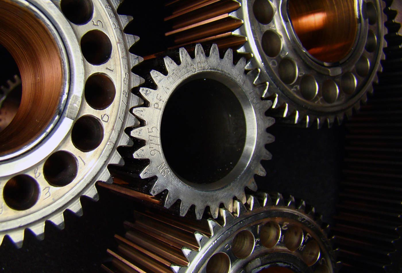 Reduction gears.