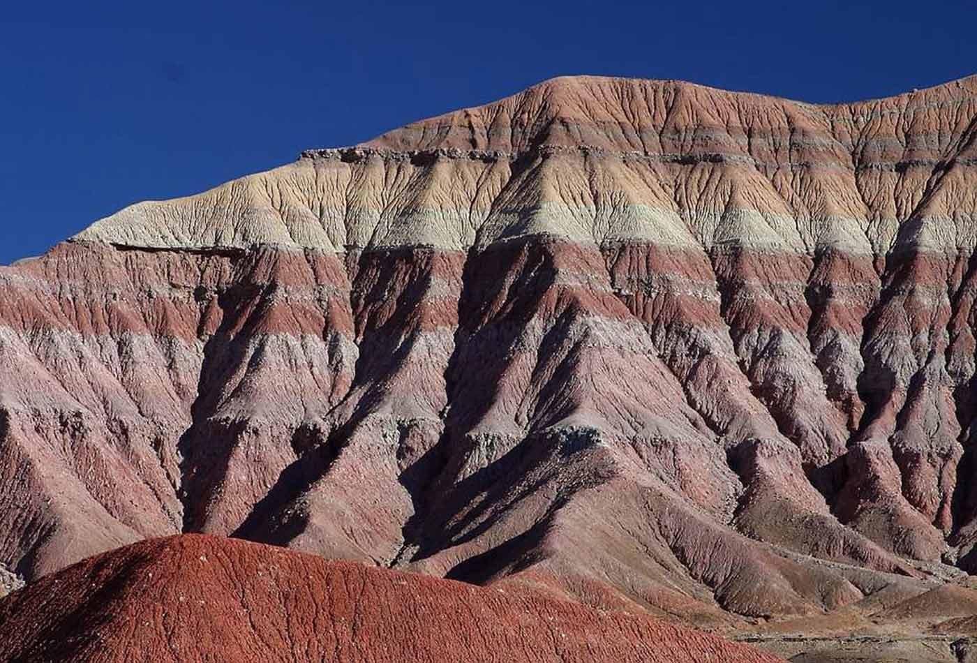 Rock layers.
