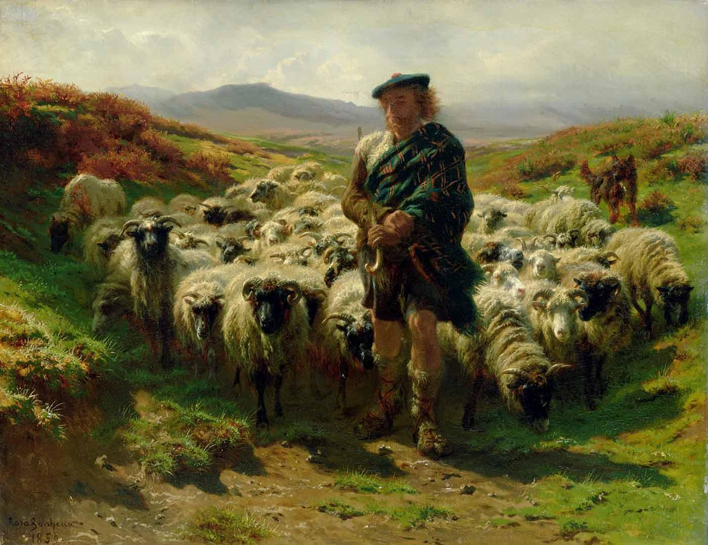 """The Highland Shepherd,"" 1859."