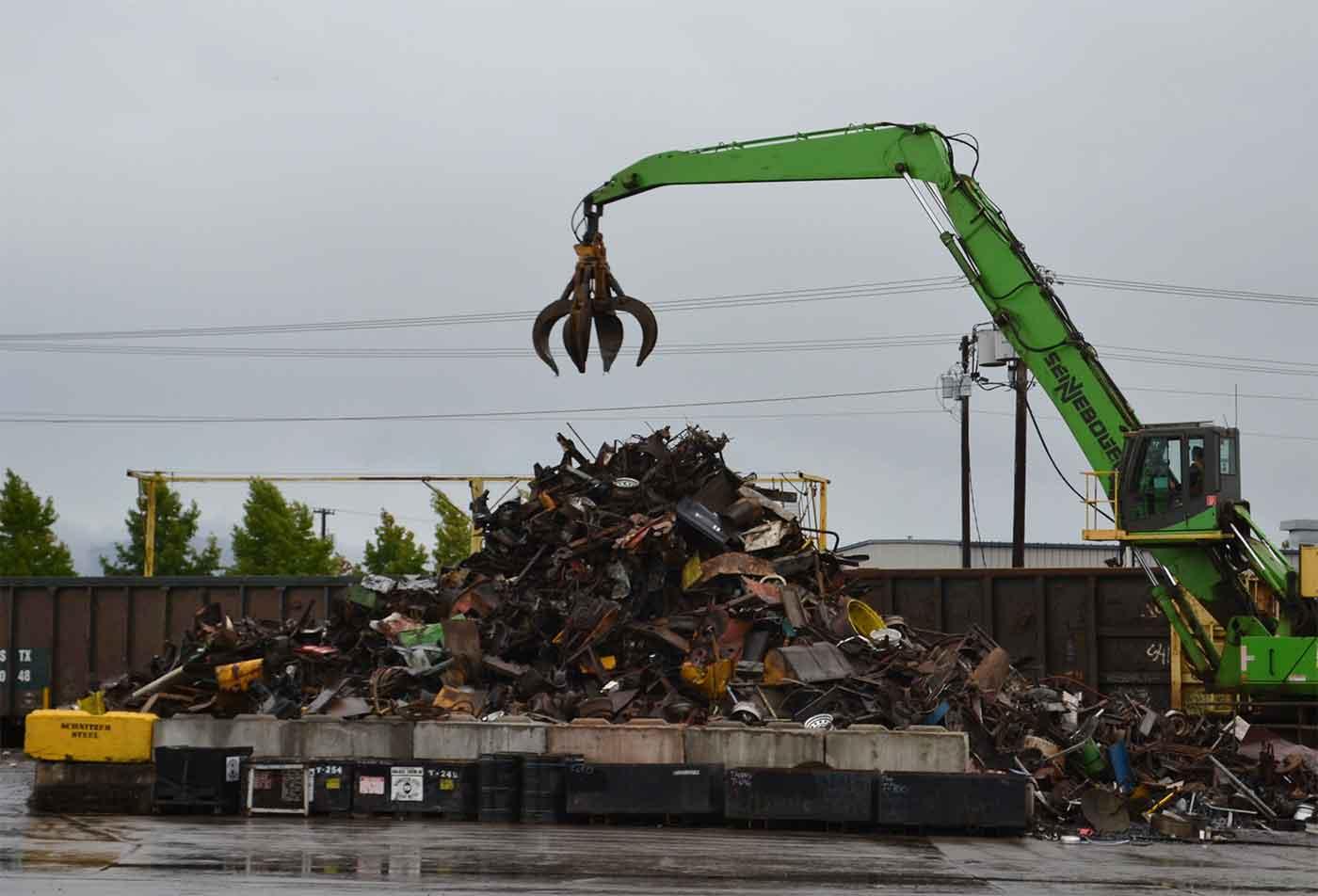 Scrap metal in Eugene, Oregon