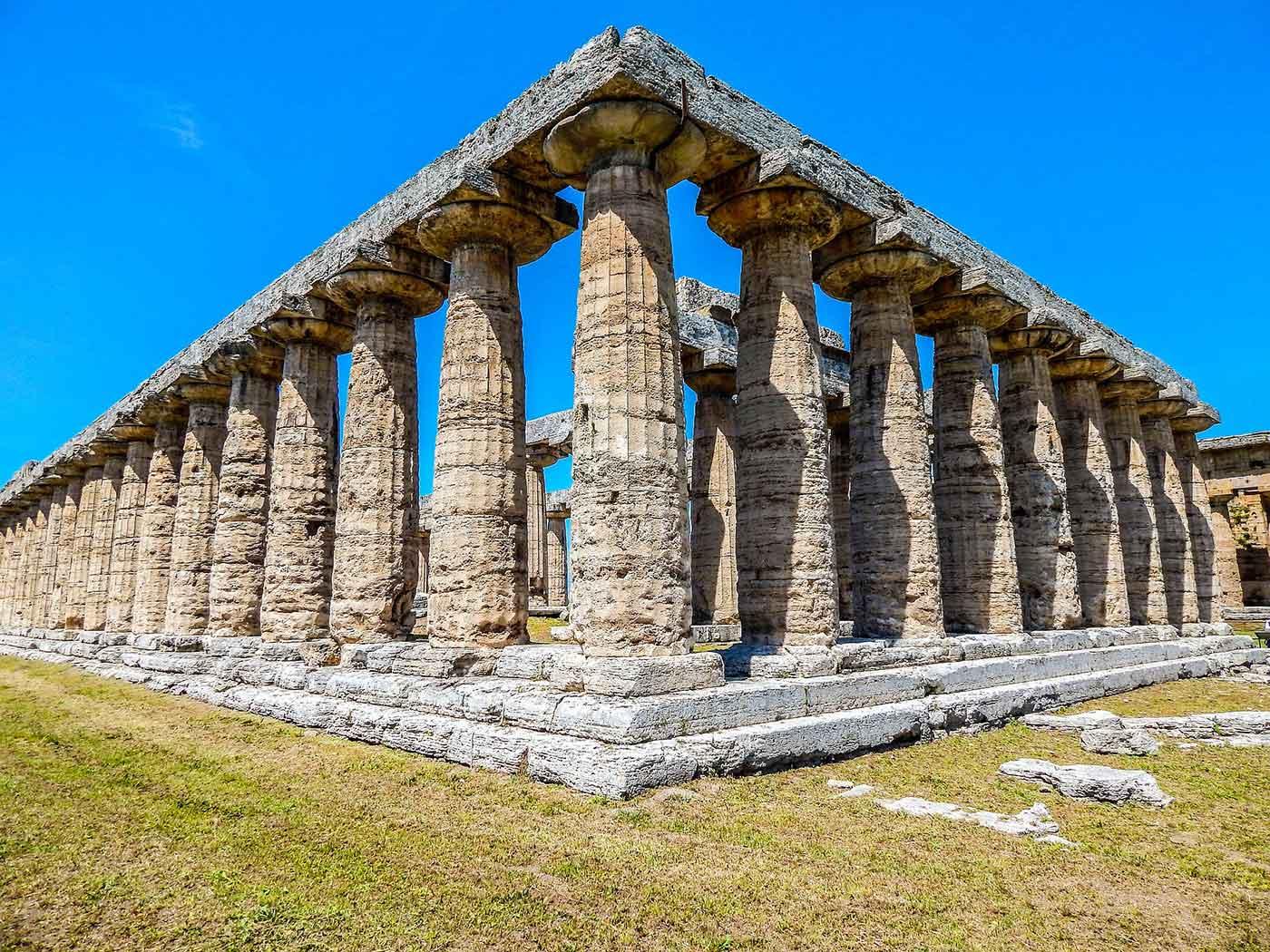 Old pillars