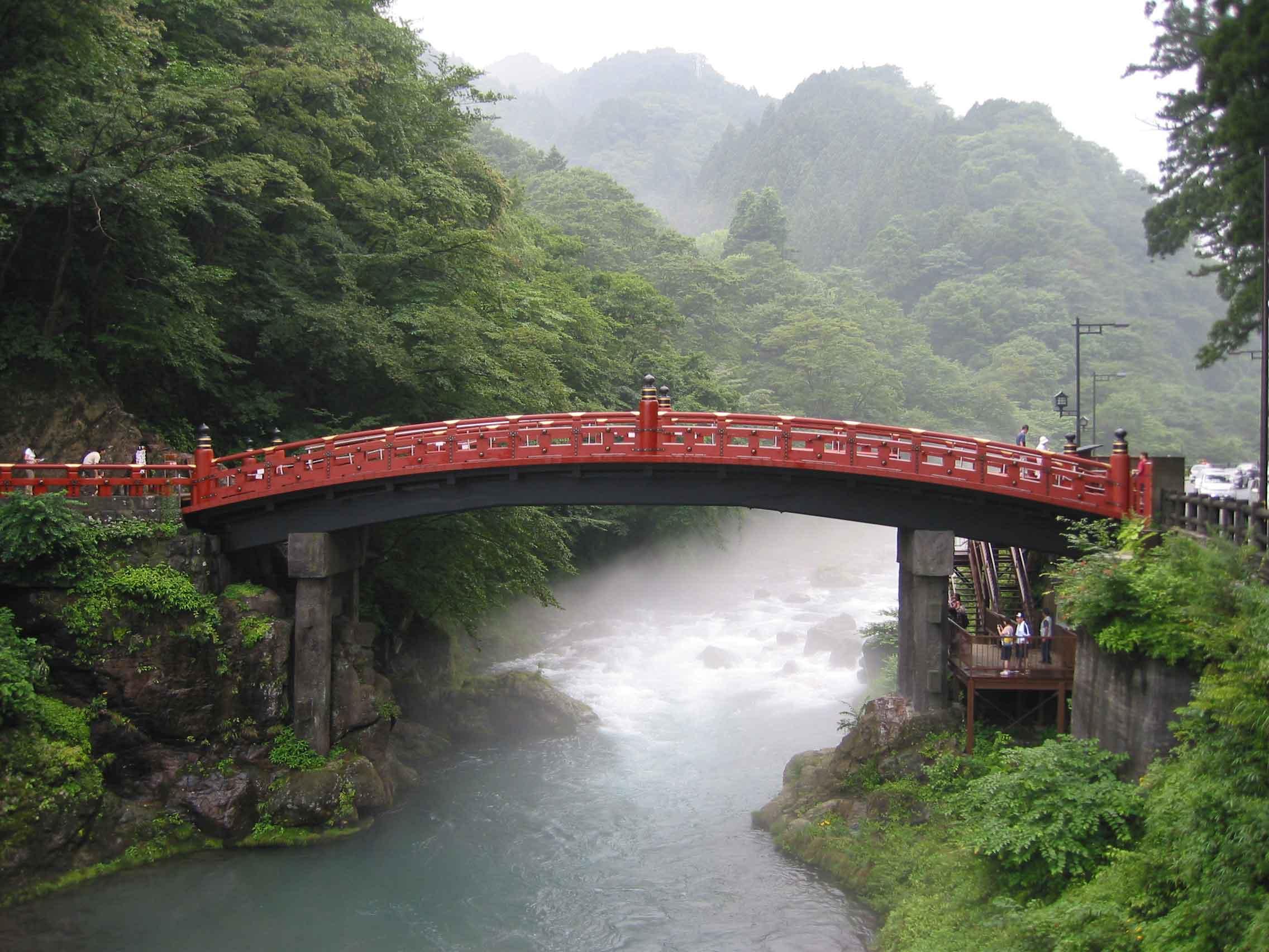 Shinkyo (Sacred Bridge), Nikko, Japan, by Paul Mannix