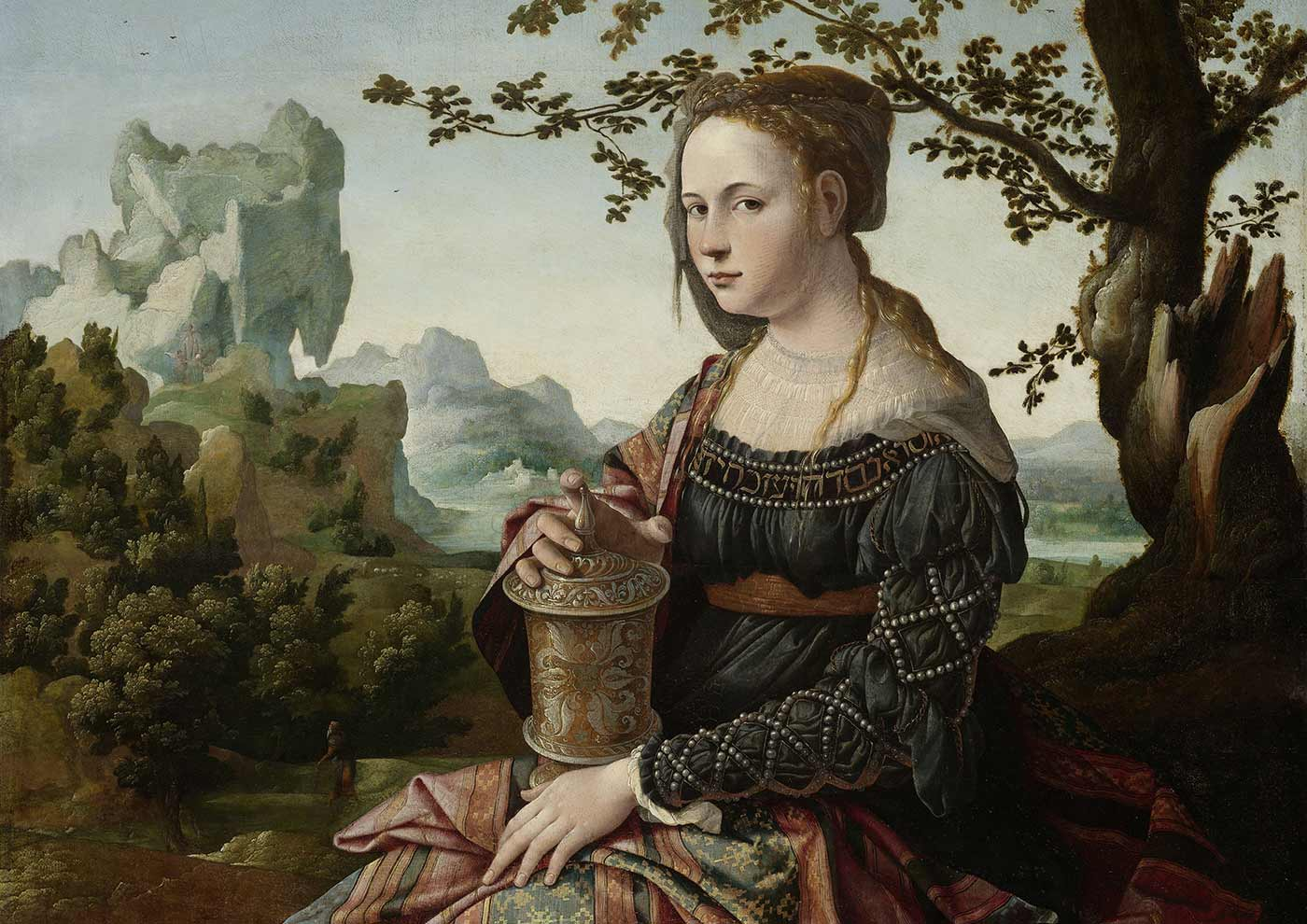 Mary Magdalene, Jan van Scorel, circa 1530.