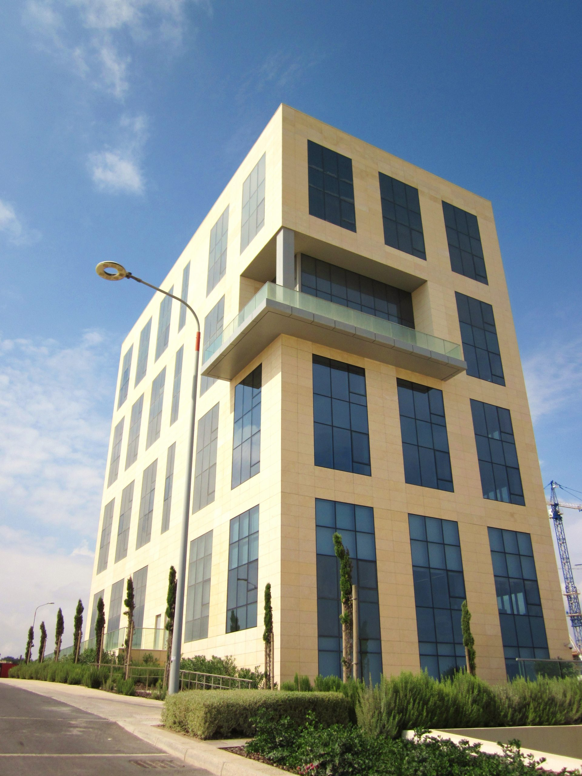 The first office block constructed at Smart City, Malta.