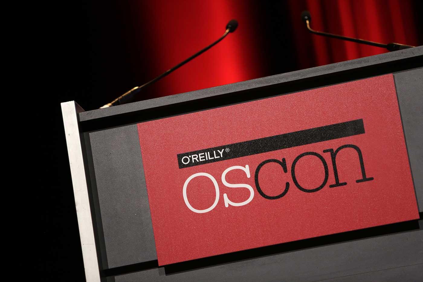 OSCON lectern