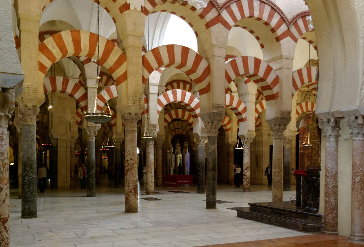 Spain, Cordoba, Mosque-Cathedral.
