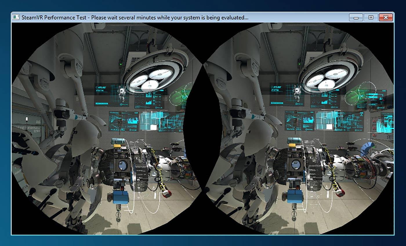 SteamVR Performance Test.