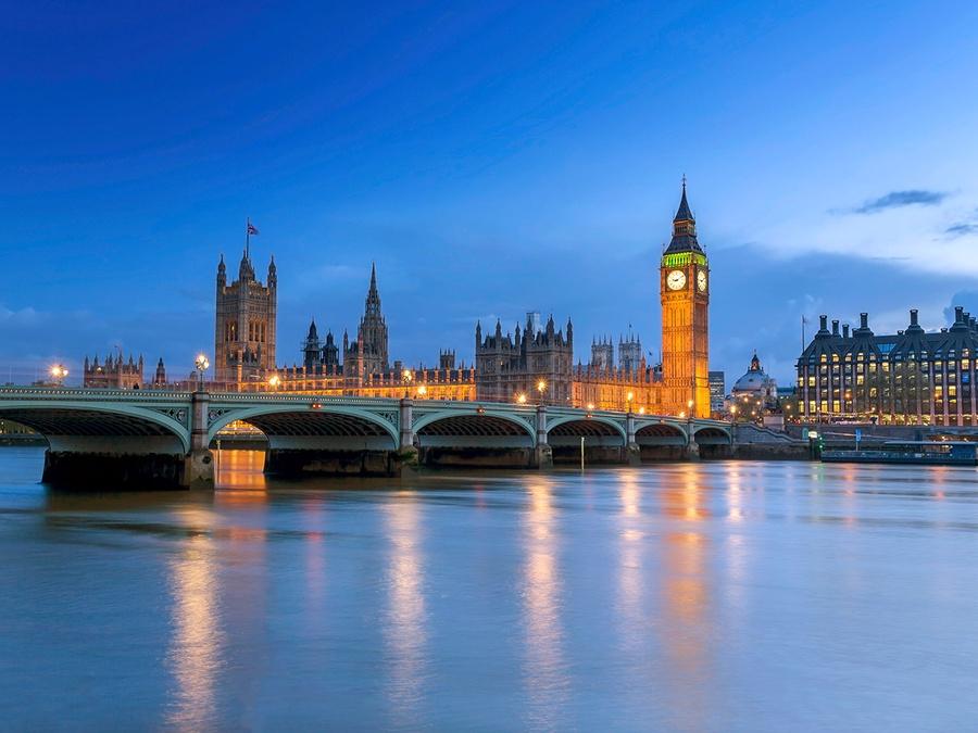 London skyline - Strata + Hadoop World in London 2016