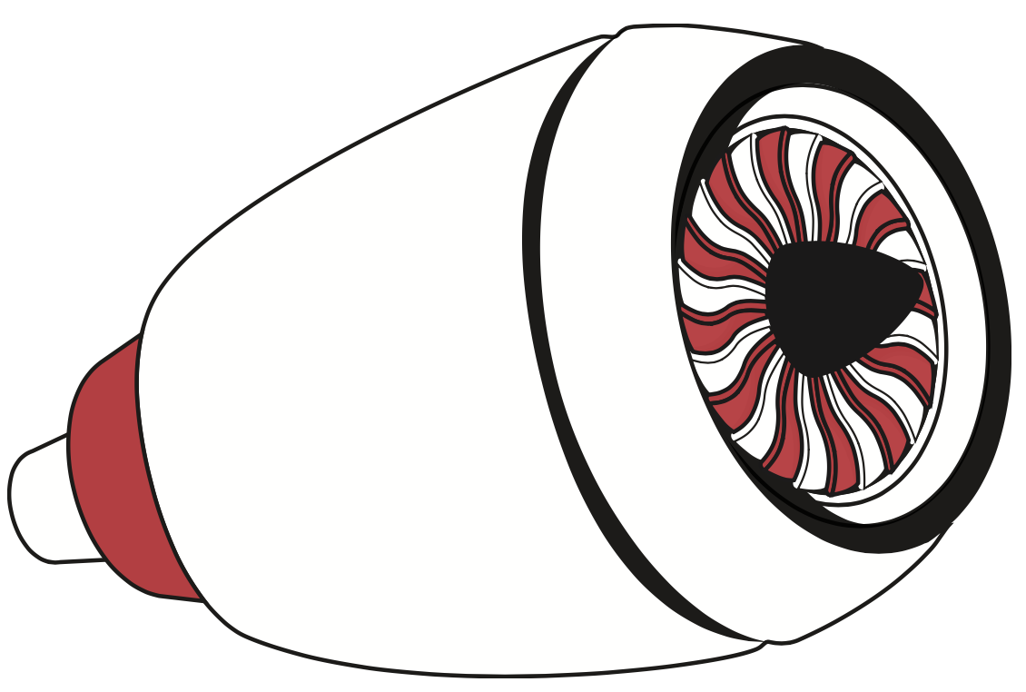 The turbine engine