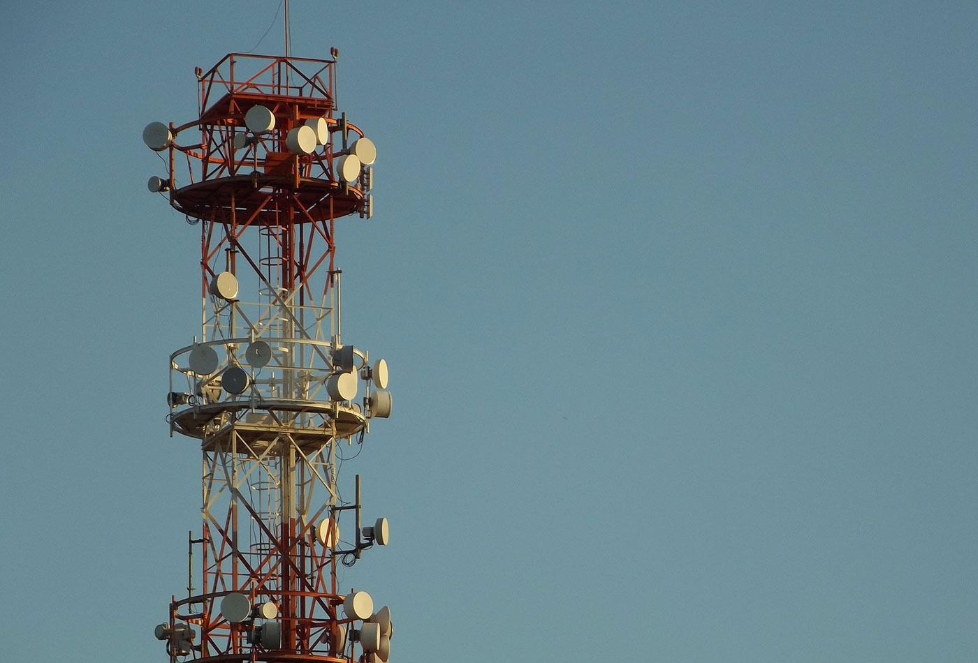 Cellular network.