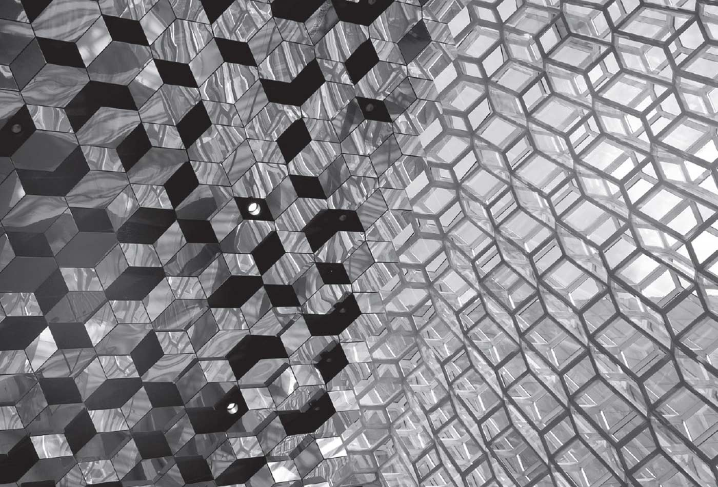 Olafur Eliasson's glass front.