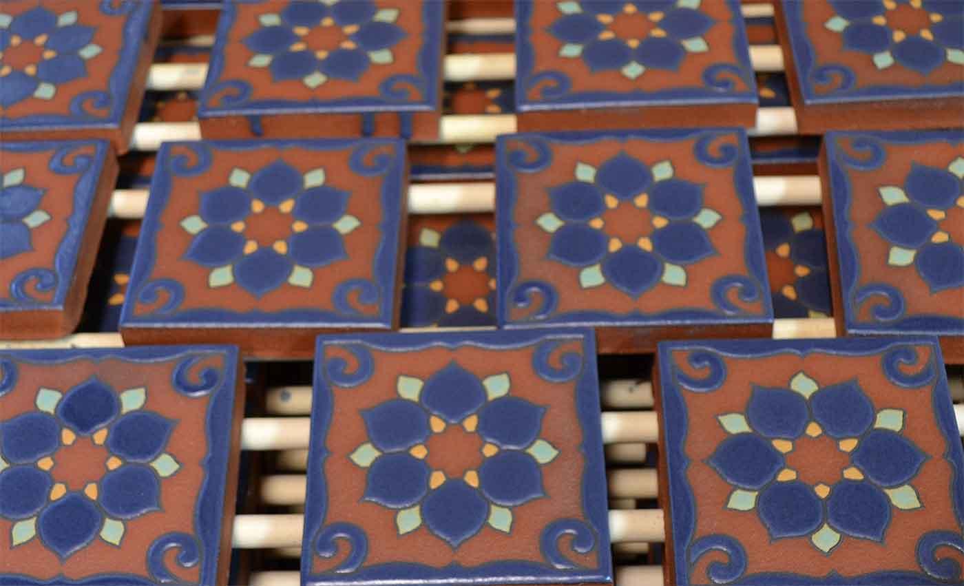 Stacking kiln for bulk firing of one pattern