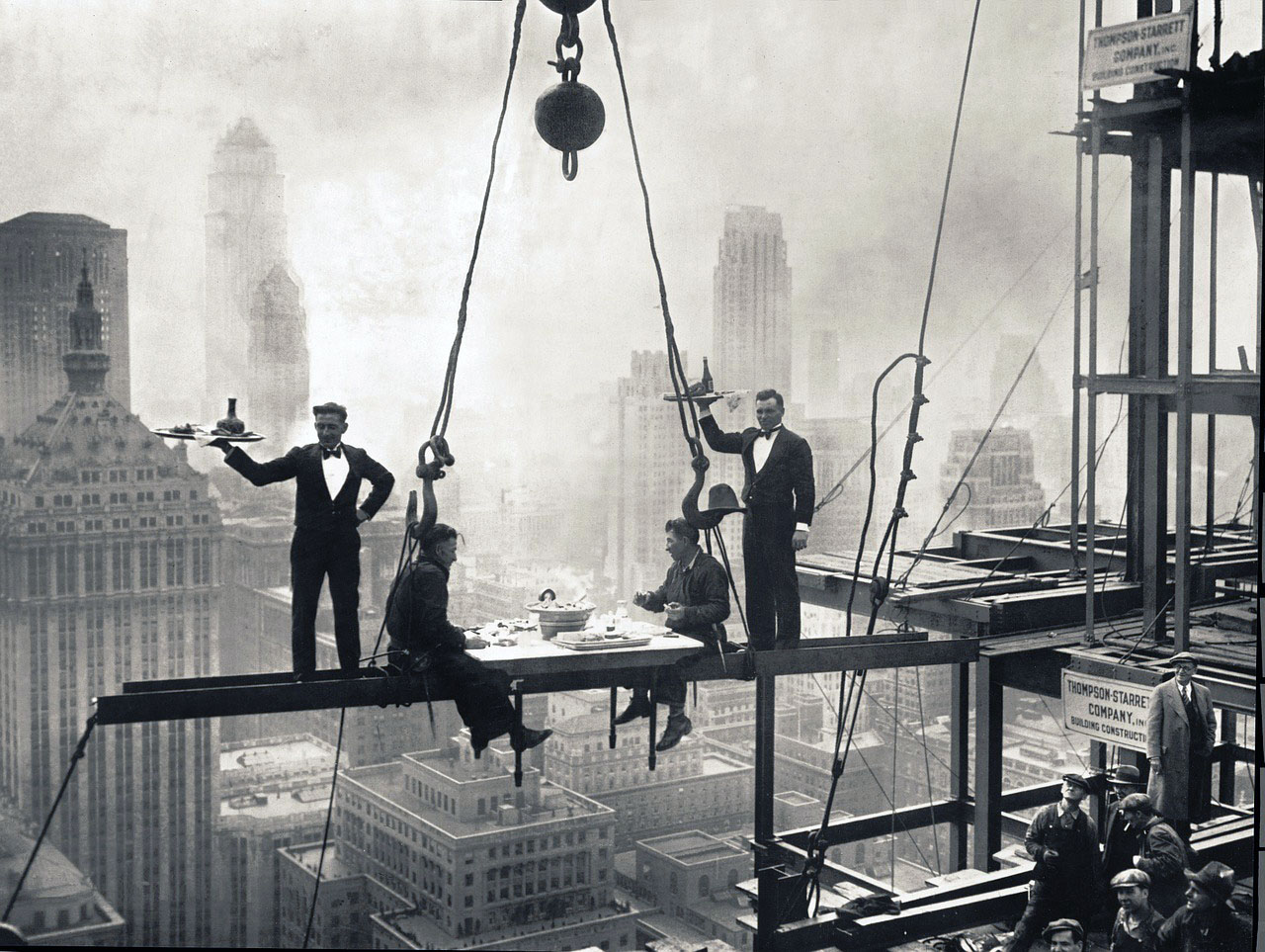 Waldorf-Astoria construction