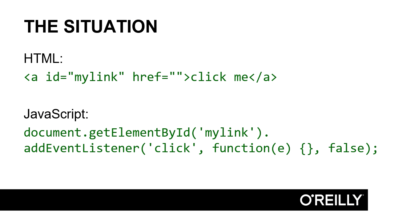 """Screenshot from """"What href attribute should you use for JavaScript-only links?"""""""