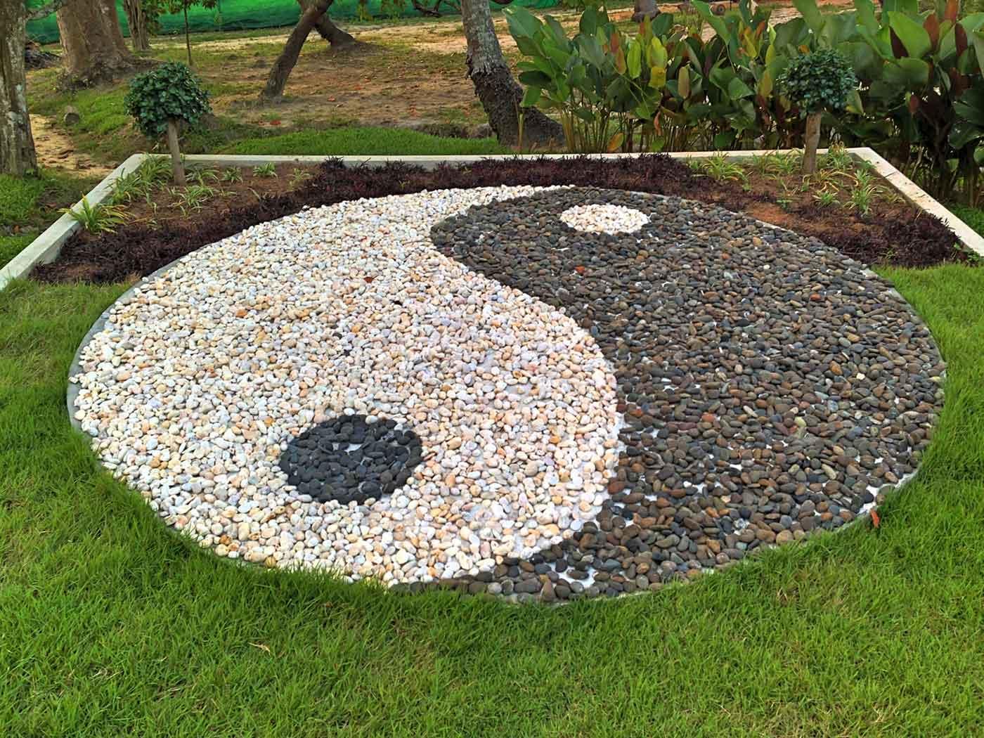 Yin and Yang Tao Rock Garden.