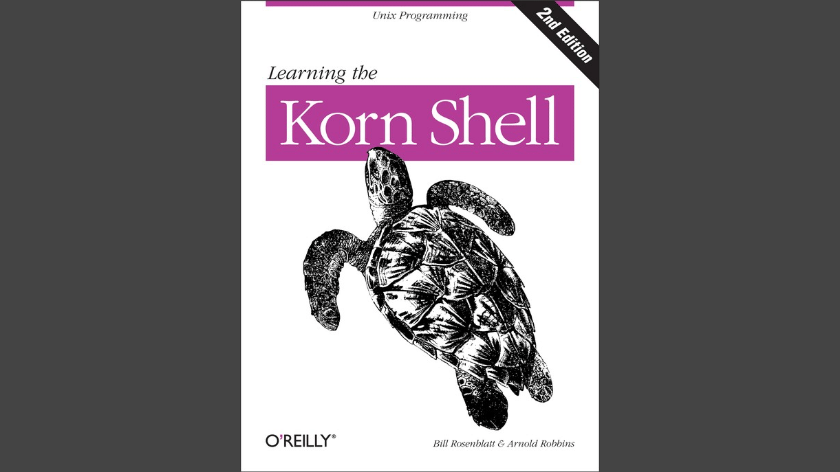 Cover: Learning the Korn Shell, 2nd Edition