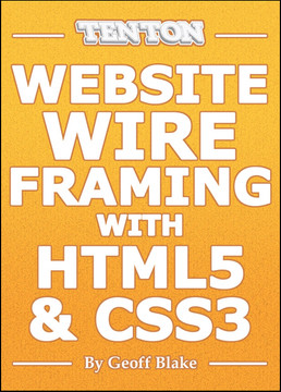 Website Wireframing with HTML5 And CSS3