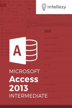 Access 2013 Intermediate