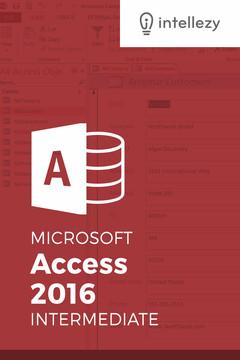 Access 2016 Intermediate