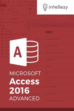 Access 2016 Advanced
