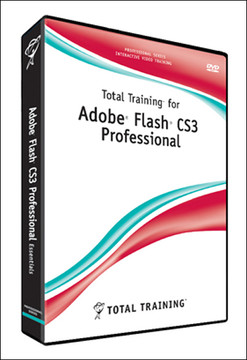Total Training for Adobe Flash CS3: Professional ActionScript 3 UI & Data