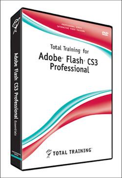 Total Training for Adobe Flash CS3 Professional: Flash Animation