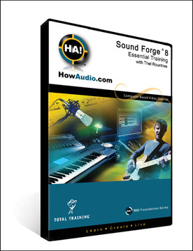 SoundForge 8.0: Essential Training
