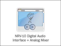 NRV-10 Digital Audio Interface + Analog Mixer
