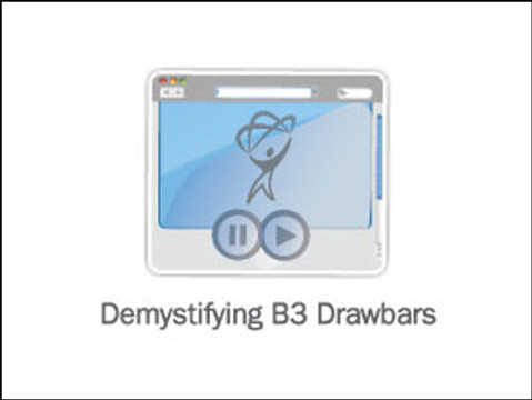 Demystifying B3 Drawbars