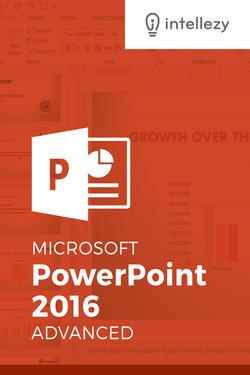 PowerPoint 2016 - Advanced