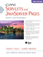 Cover of Core Servlets and JavaServer Pages™: Volume 1: Core Technologies, 2nd Edition