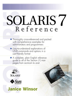 Solaris™ 7 Reference