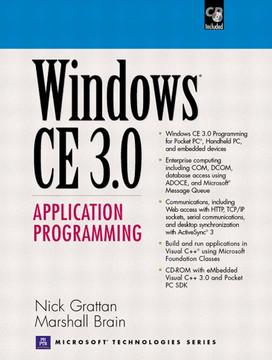 Windows® CE 3.0 Application Programming
