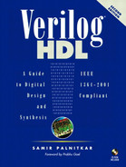 Cover of Verilog® HDL: A Guide to Digital Design and Synthesis, Second Edition