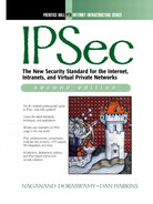 Cover of IPSec: The New Security Standard for the Internet, Intranets, and Virtual Private Networks, Second Edition