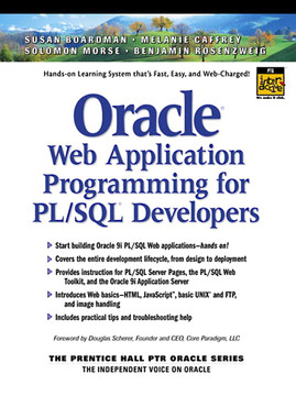 Oracle® Web Application Programming for PL/SQL® Developers