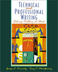 Technical and Professional Writing: Solving Problems at Work