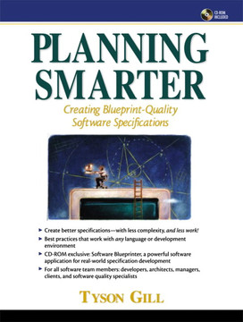 Planning Smarter: Creating Blueprint-Quality Software Specifications