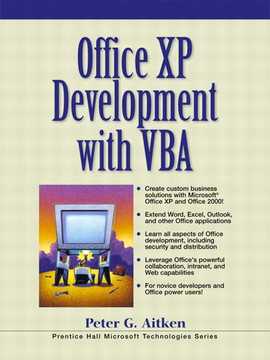 Office® XP Development with VBA
